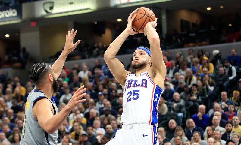 Illustration for article titled Brett Brown Really Wants Ben Simmons To Keep Shooting Threes