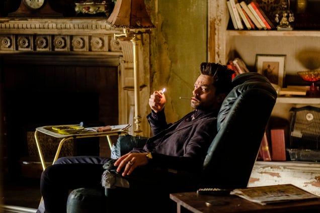 Dominic Cooper stars in Preacher (Photo: Alfonso Bresciani/AMC/Sony Pictures Television)