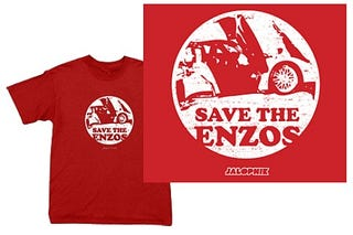Illustration for article titled You've Done it Now: Save the Enzos!