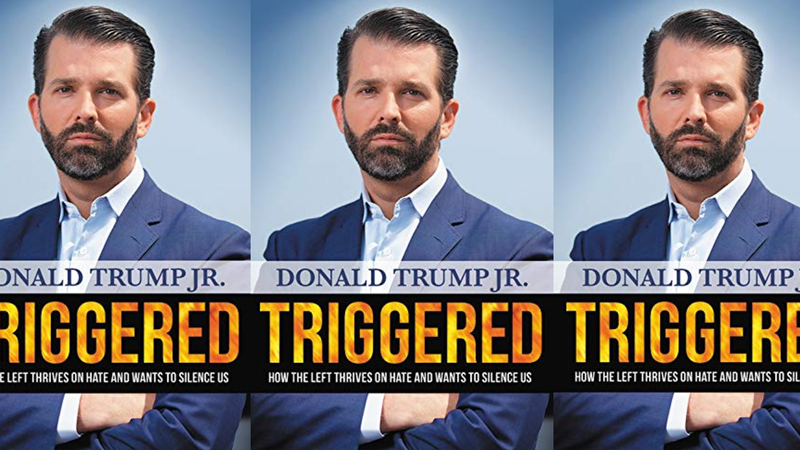 Donald Trump Jr. Demonstrates Expert-Level Clenching on the Cover of His Upcoming Book