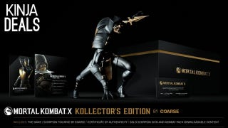 Illustration for article titled Newegg's Taking $15 off the Mortal Kombat X Kollector's Edition