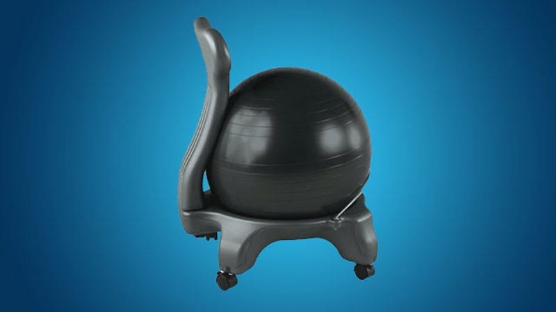 Why I Switched My Office Chair with an Exercise Ball and What – Sitting on Exercise Ball Instead of Chair