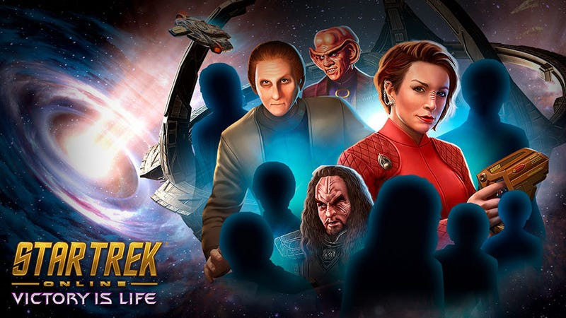 The ad for the new add-on to Star Trek Online.