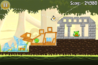 Illustration for article titled Ridiculously Addictive Angry Birds Game Now Available on WebOS