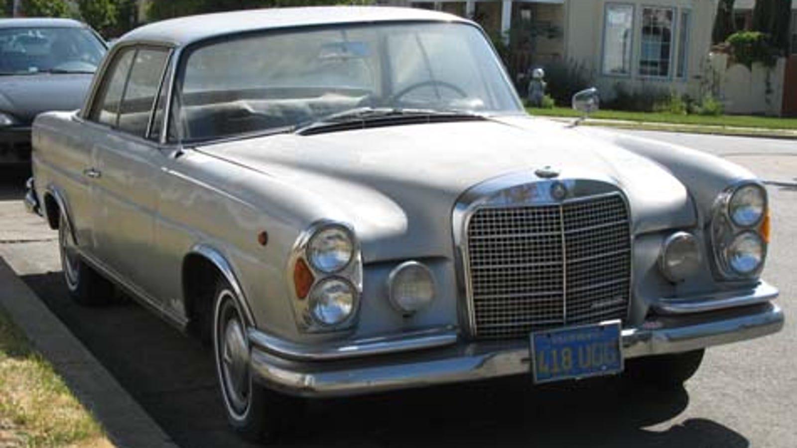 1965 Mercedes Benz 220se Coupe W108 Engine Parts Diagram