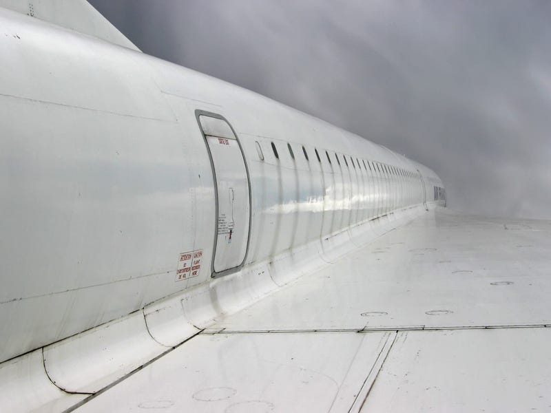 Illustration for article titled Nice angle of Concorde.