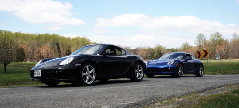 How Much Better Is The New Porsche Cayman Than The Old One? O Ld Porsche Vs New on
