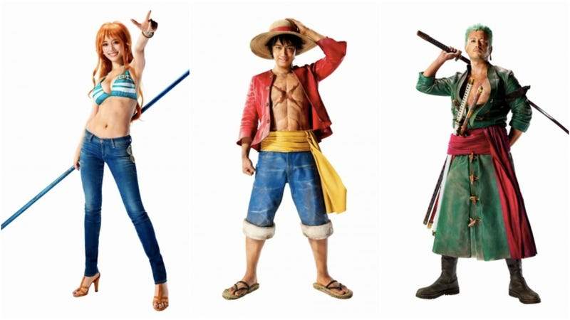 Illustration for article titled A Live-Action One Piece Movie Might Look Like This