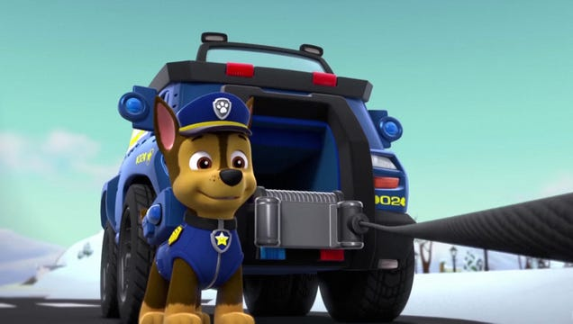 'Paw Patrol' Writers Defend Episode Where German Shepherd Cop Shoots Unarmed Black Lab 17 Times In Back