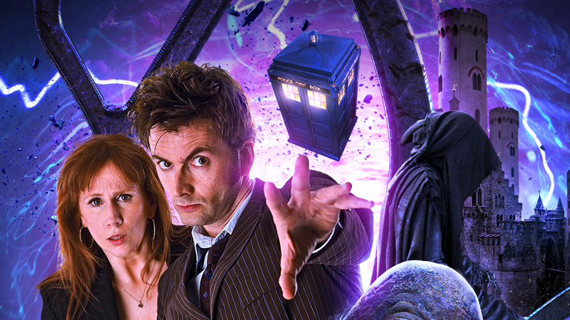 Illustration for article titled The Tenth Doctor and Donna Noble Return for Their Own Doctor WhoAudio Adventures!