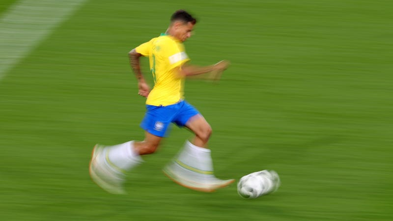 Illustration for article titled Philippe Coutinho Might Fuck Around And Win The World Cup For Brazil