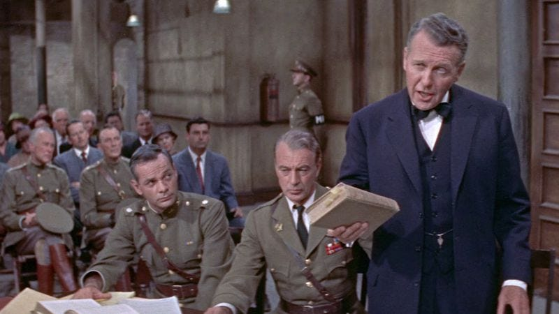 Before Anatomy Of A Murder, Otto Preminger tackled a court martial