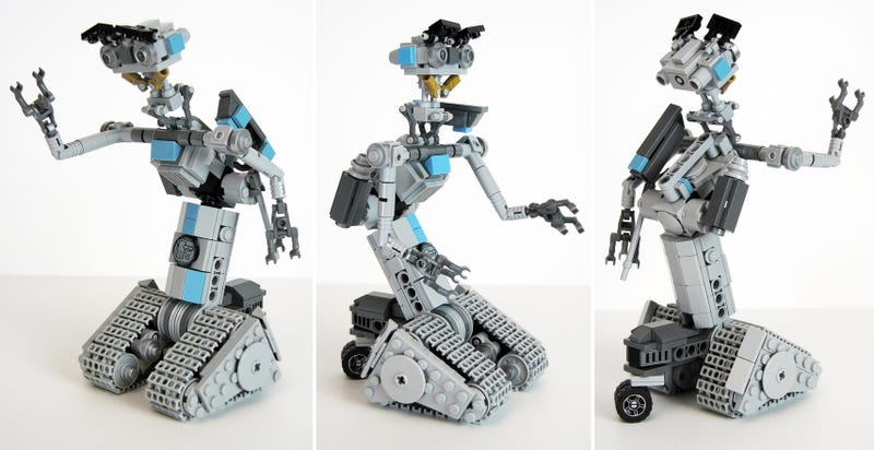 Illustration for article titled Johnny Five, Our One True Robot Hero, Might Soon Be an Official Lego Set