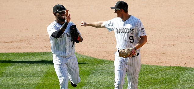 The Rockies may have lost Tuesday, but they turned a triple pla…