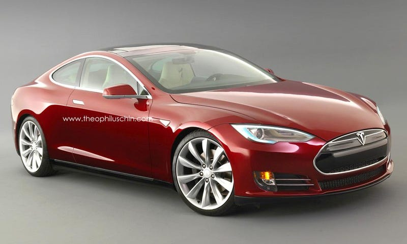 Illustration for article titled The Tesla Model S Coupe Should Be A Thing
