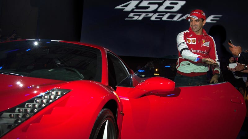 Illustration for article titled Ferrari North America Unveils New 458 Speciale During The United States Grand Prix Weekend
