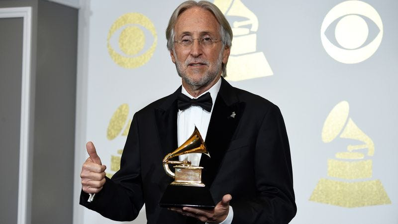 Neil Portnow, presumably accepting a Grammy for being the head of the Grammys  (Photo: Michael Kovac/Getty Images)