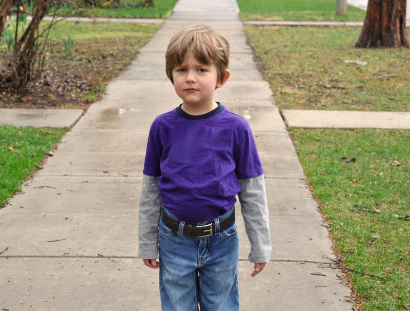 Illustration for article titled Belt Looks Weird On Child