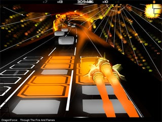 Illustration for article titled Audiosurf Dev Working On iPhone Version?