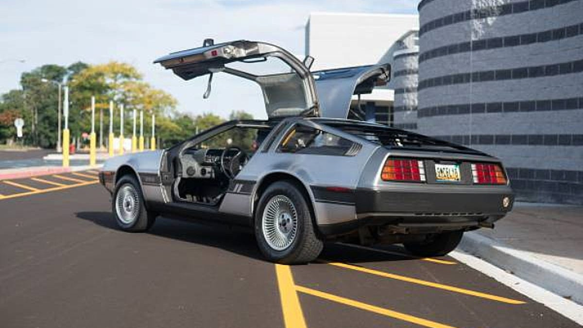 for 25 000 this 1981 delorean could be your coke classic