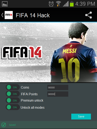Illustration for article titled Fifa 14 Android Hack