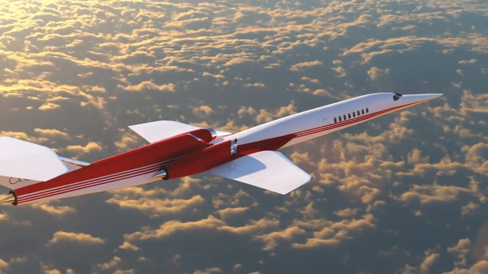 The world's first supersonic private jet just got a lot closer to reality