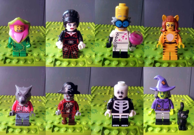 Illustration for article titled Series 14 collectible Lego mini-figures leaked