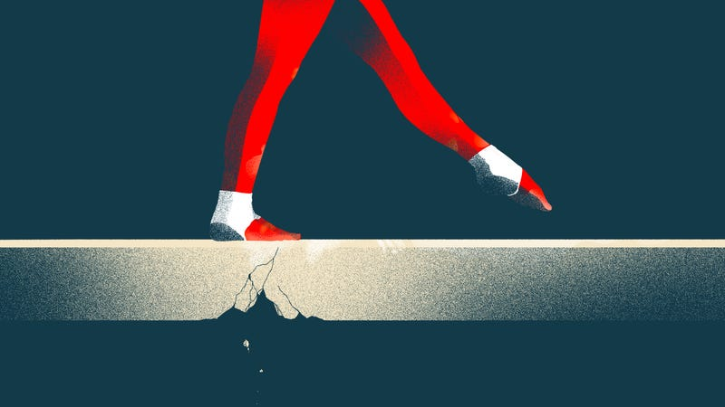 Illustration for article titled If USA Gymnastics Goes Down, Who Goes Down With It?