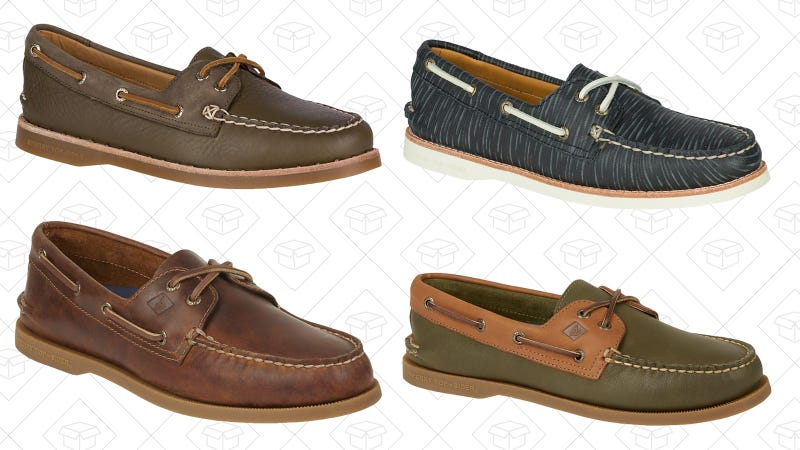 Select boat shoes | $50 | Sperry