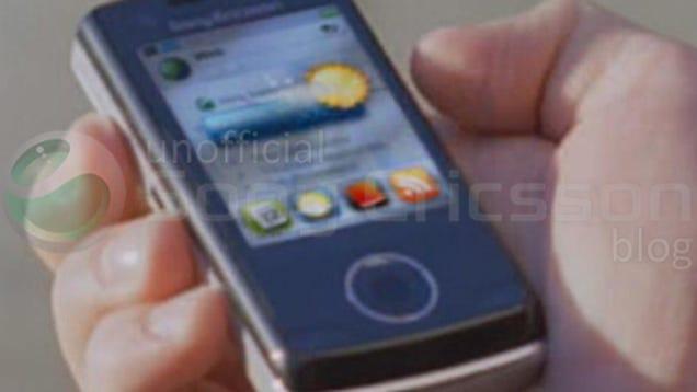 Sony Ericsson Paris Slider Leaked?