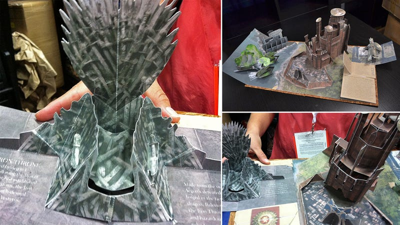 Illustration for article titled A Game of Thrones Pop-Up Book Should Tide You Over Between Seasons