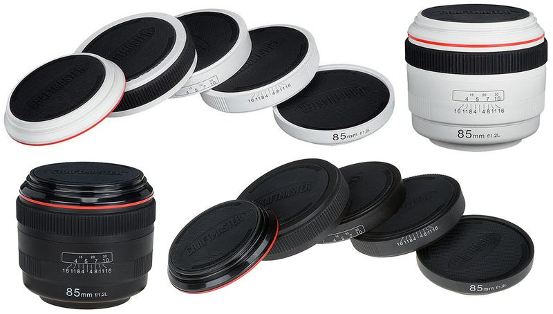 Illustration for article titled Camera Lens Coasters Keep Coffee Rings Out of Your Photography Studio