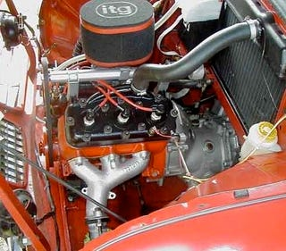 Illustration for article titled Engine Of The Day: Saab Two-Stroke Three-Cylinder