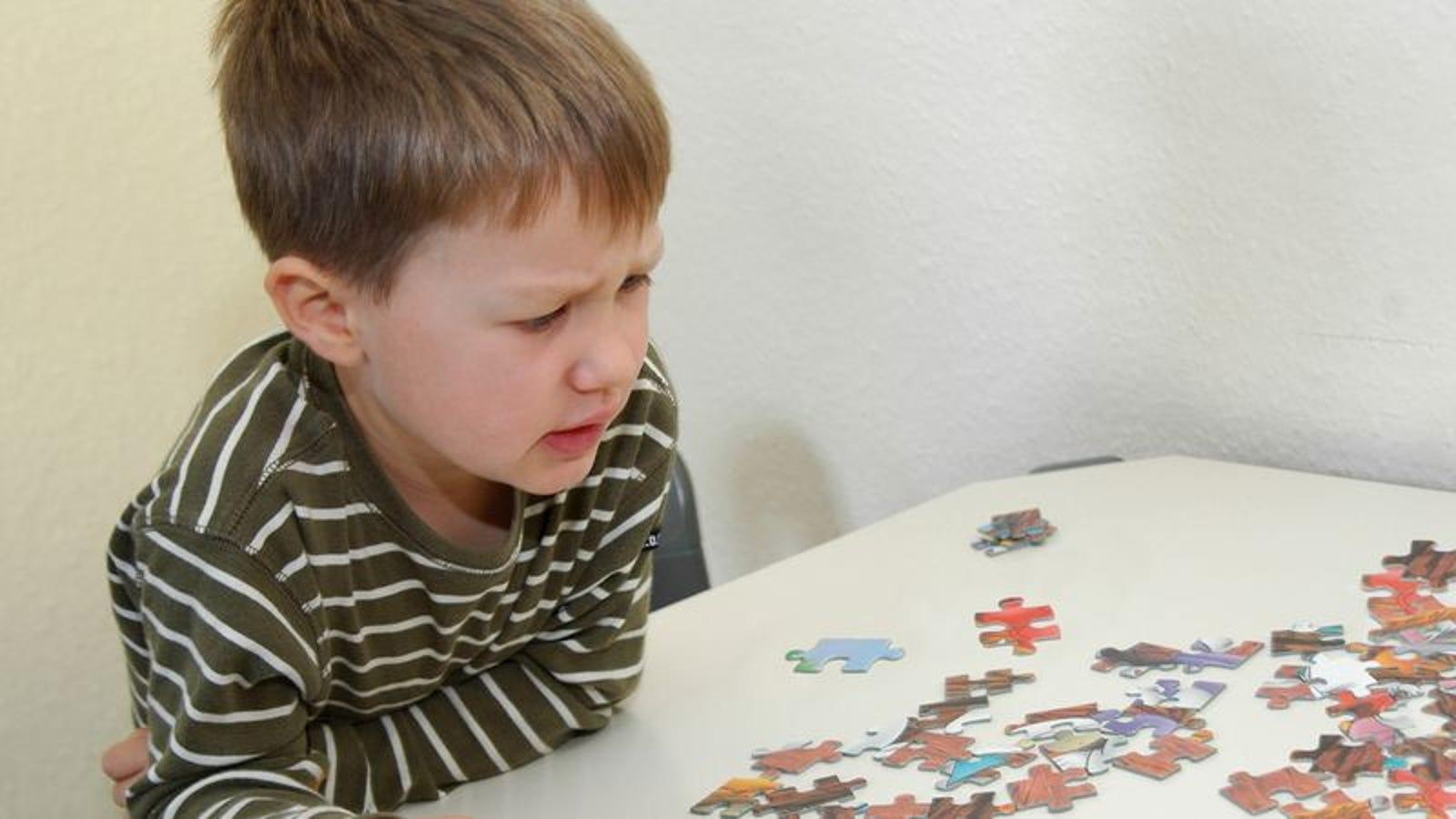 Grandson's Jigsaw Puzzle Strategy Fucking Pathetic