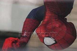 Illustration for article titled Spider-Man Behind the Scenes Photos