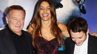Illustration for article titled Sofia Vergara, Robin Williams, and Elijah Wood Are Pretty Happy About Their Feet