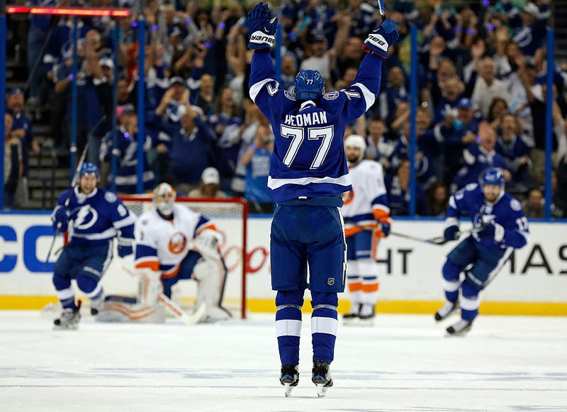 Victor Hedman Is Doing Everything
