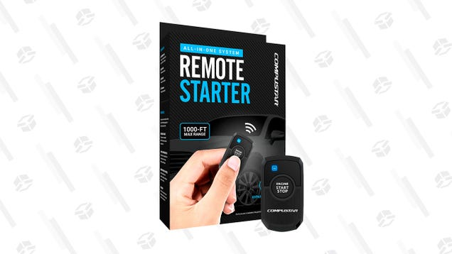 Get That Chill Out of Your Car Before Your Drive With a One-Way Remote Start Kit for $230