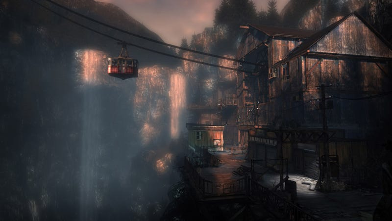 Illustration for article titled Latest Silent Hill: Downpour Screens Don't Skimp On The Gondola