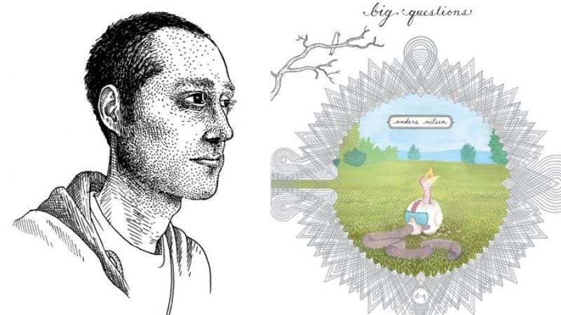 Illustration for article titled Anders Nilsen, creator of cartoons both terrifying and meaningful