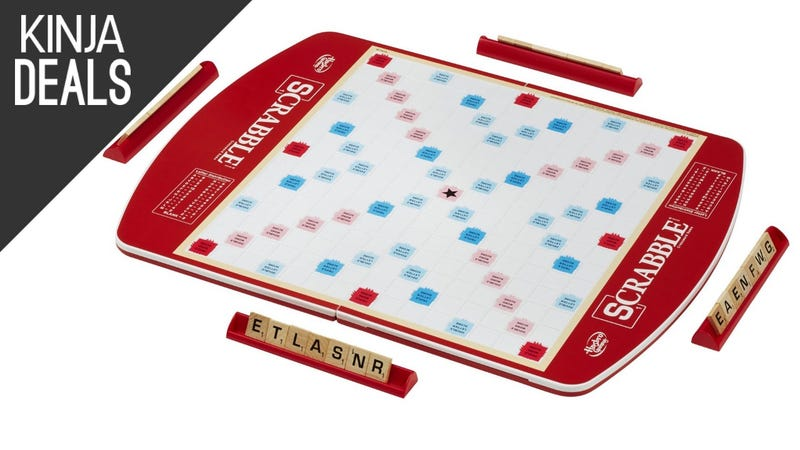 Illustration for article titled If You Take Scrabble Seriously, You Can't Beat the Deluxe Edition for $28