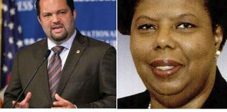 Benjamin Todd Jealous (Alex Wong/Getty Images); Lorraine C. Miller (Congressional Pictorial Directory)