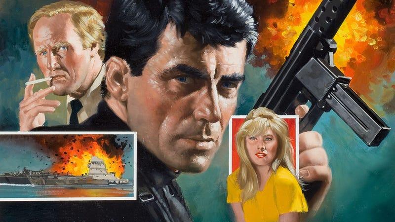 Illustration for article titled The Weirdest Spy Action Novels Ever Published