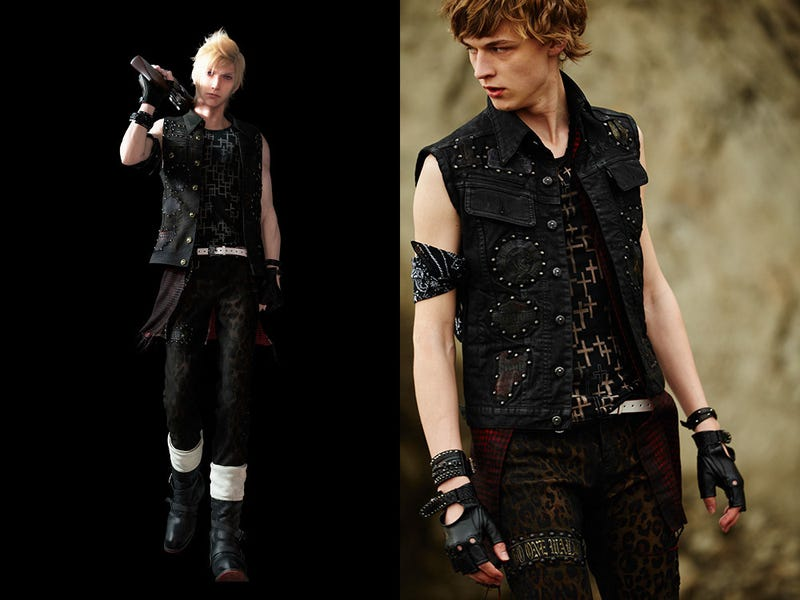 [Images: Roen | Square Enix | Fashion Press]