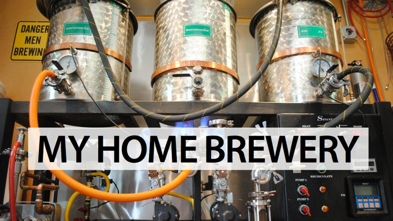 Illustration for article titled The Home Brewing Laboratory of Every Beer Drinker's Dreams