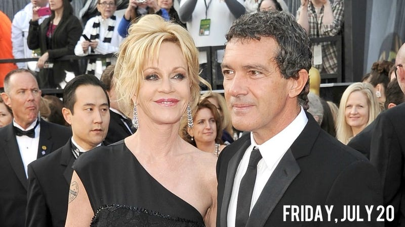 Illustration for article titled Melanie Griffith And Antonio Banderas Don't Do It Anymore, Might Divorce