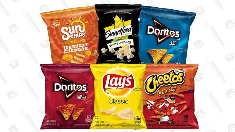 Frito-Lay Classic Snack Box | $8 | Amazon | With Subscribe & Save and 20% coupon
