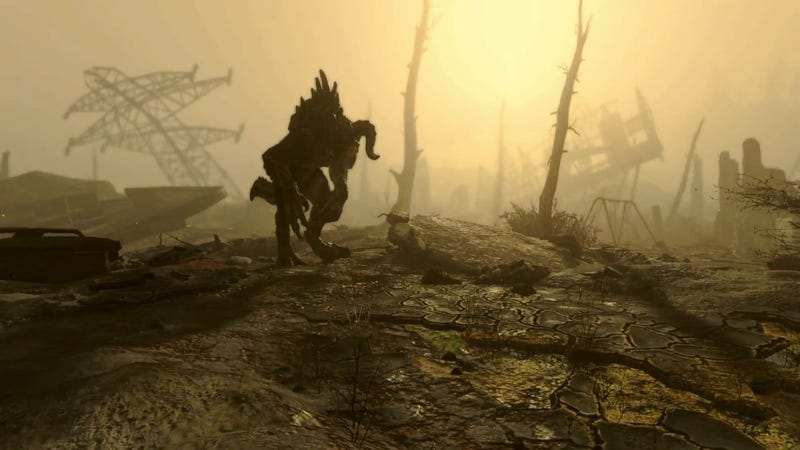 Fallout 4 Mod Lets You Have A Deathclaw Follower