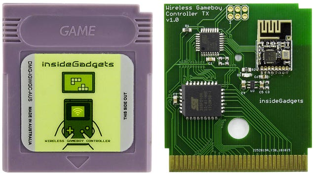 Turn Your Old Game Boy Into the Ultimate Retro Controller With This Custom Cartridge