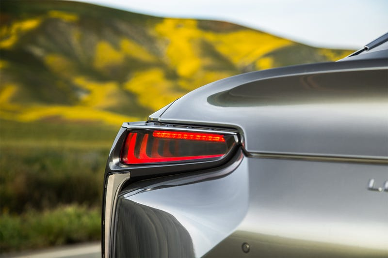 Illustration for article titled I've decided that the Lexus LC is worth it just for the taillights